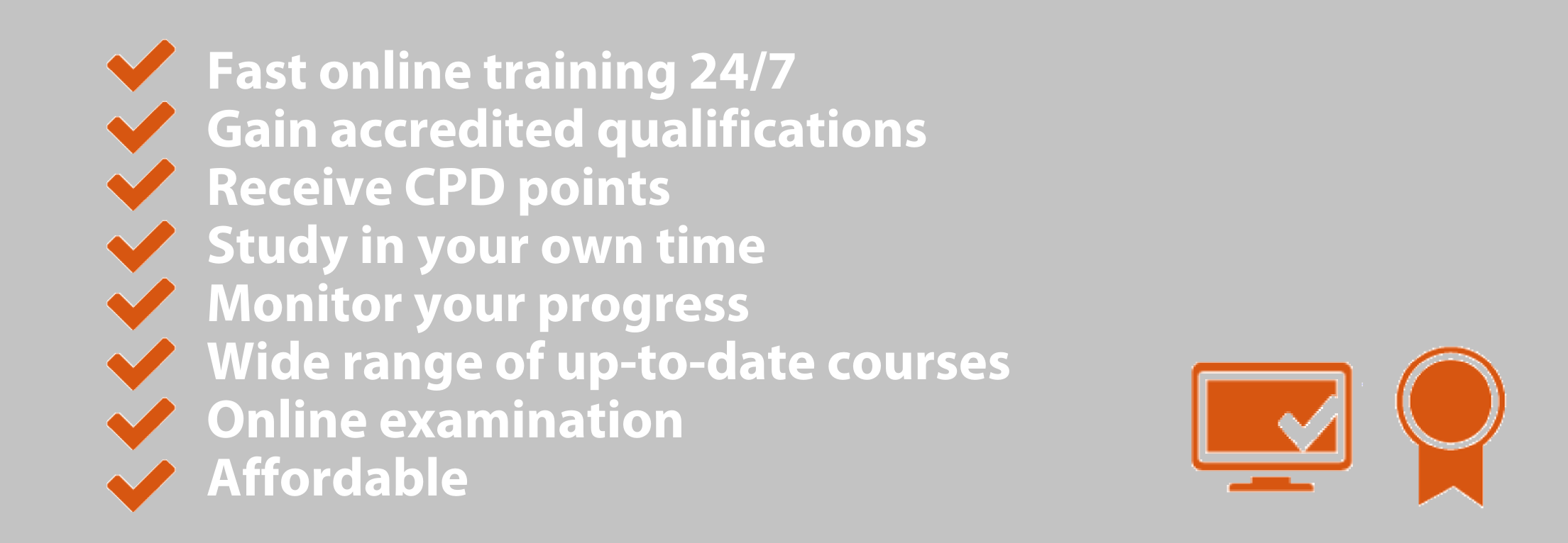 Here are just some of the benefits of becoming qualified with Whitehall Training