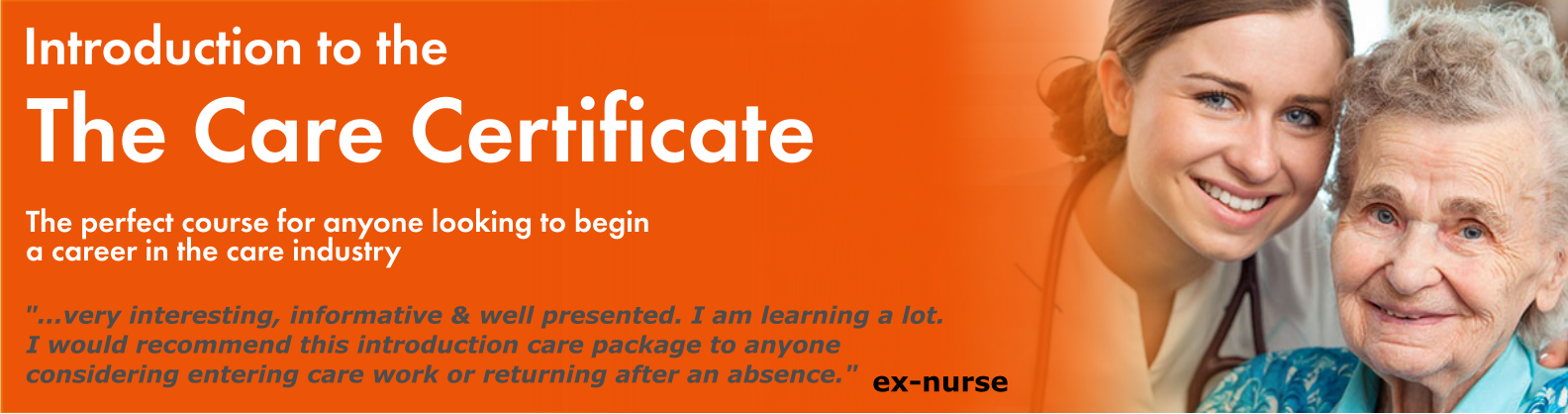 Care Certifcate Banner